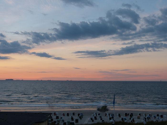 Wangerooge Meerblick und Strandblick von unseren  Ferienwohnungen