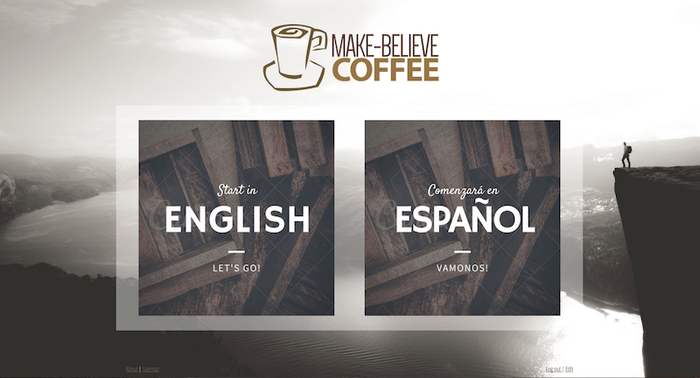 Make your own bilingual website