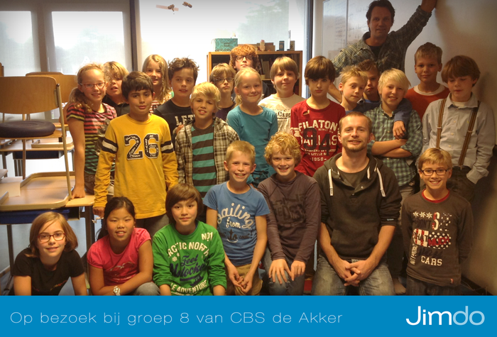 websites maken in de klas