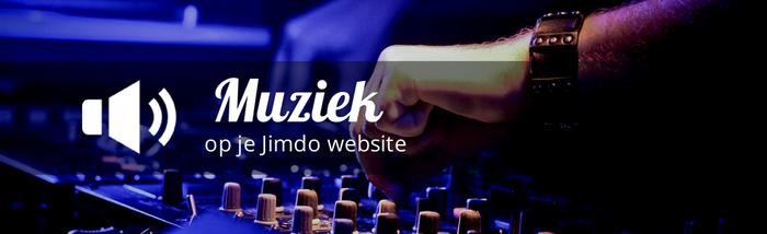 muziek jimdo website