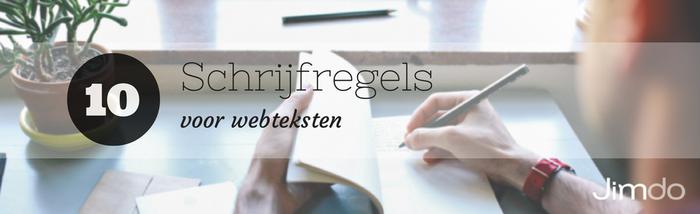 10 schrijfregels voor webteksten