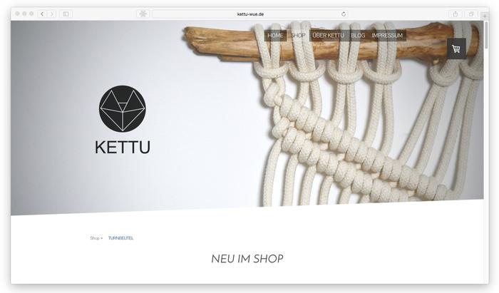 Das Logo sorgt für Wiedererkennungswert bei KETTU