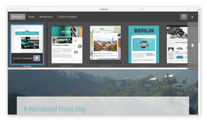 In unserer Design-Auswahl ist sicherlich der richtige Look für eure Webseite dabei!