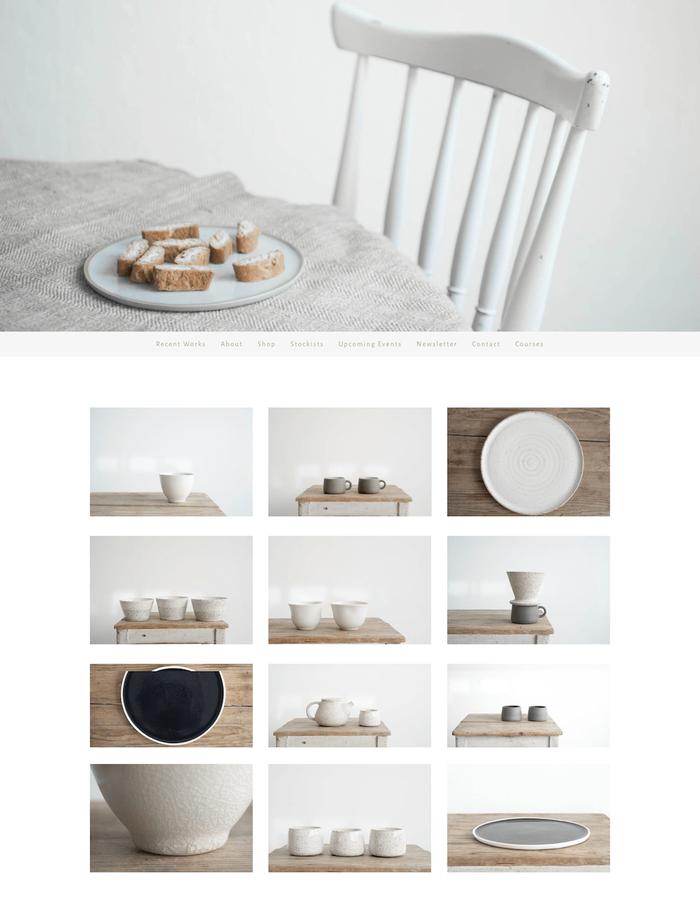 Klares, schlichtes, liebevolles Design – so ließen sich die Werke und die Webseite von Sun Tree Studio beschreiben.