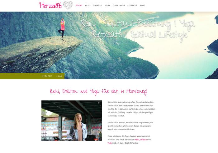Jennys Webseite: Lust auf Yoga, Reiki oder einfach etwas Inspiration? Besucht Herzzeit Hamburg mit einem Klick auf das Bild