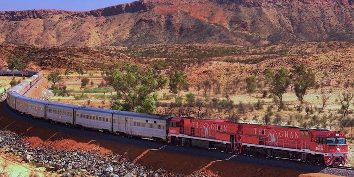 Ghan Train Australia