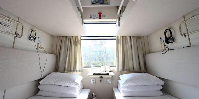 soft sleeper on Tibet train