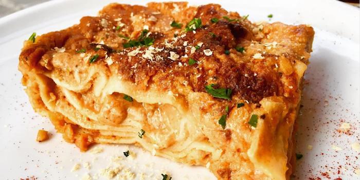 lasagna from la tecia vegana