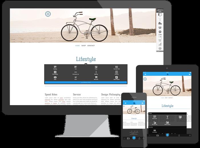 Crea un sito gratis con Jimdo