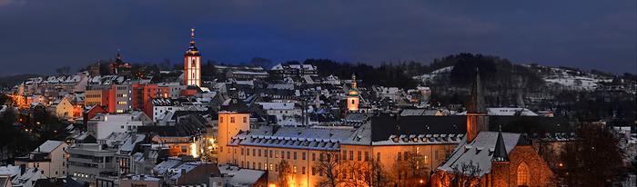 Siegener Oberstadt im Winter