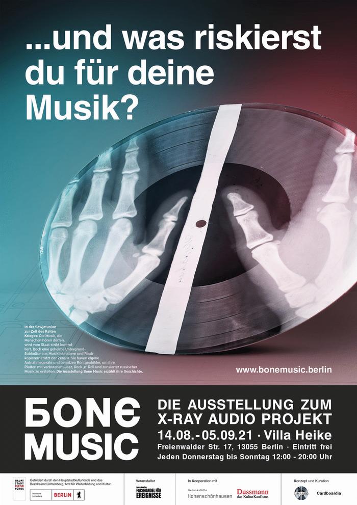 bone music  x-ray audio project villa heike berlin