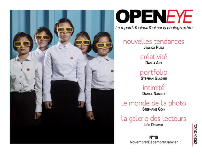 Page de couverture Opeyene 19, Publication Léo Derivot