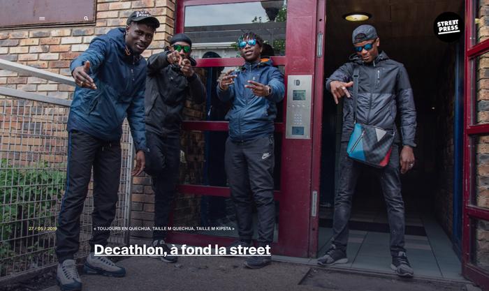 Decathlon à fond la street, article pour Streetpress, Léo Derivot