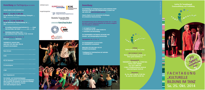Mit Bühnenauftritten der CHOREOGRAFIE-WERKSTATT für Jugendliche + JAZZDANCE + FUSION Ensemble