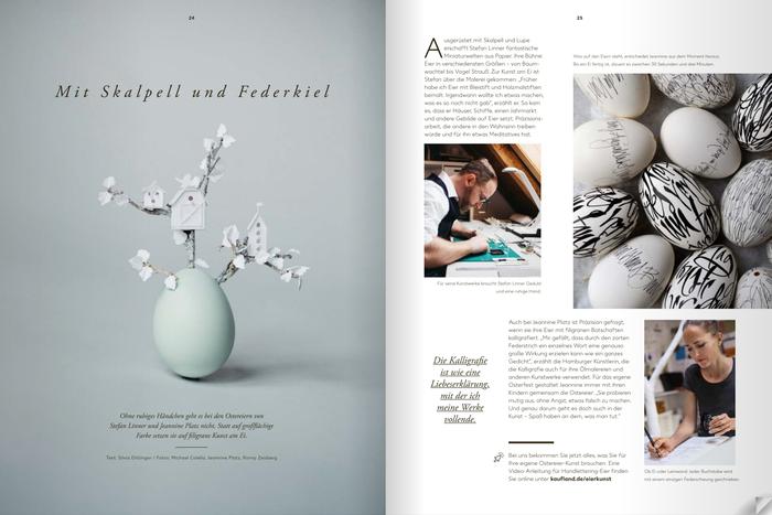 """Kundenmagazin """"Kaufland"""" Osterausgabe 2018"""