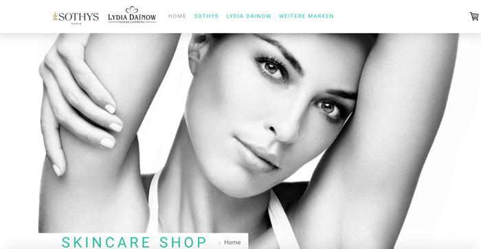 Skincare Shop SOTHYS Online Shop