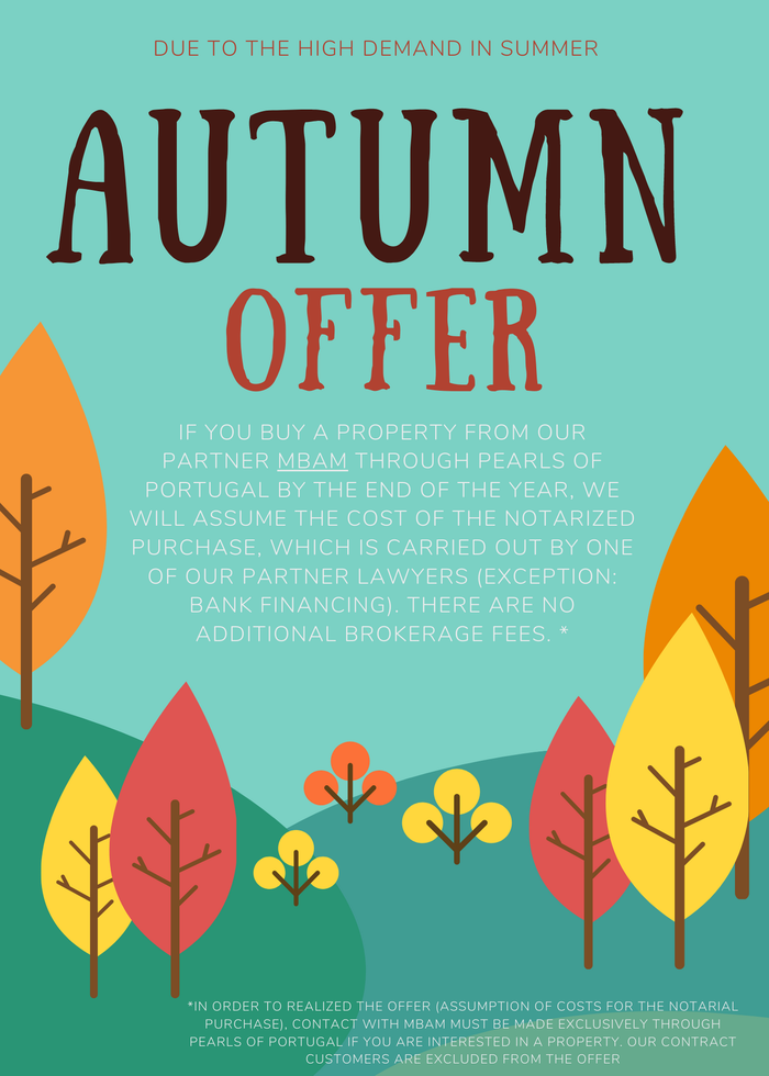 autumn offer real estate Portugal
