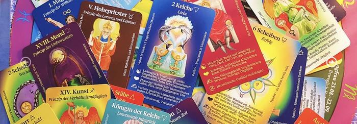 Tarotkarten von Sylvia Hart www.tarot-events.de, ©Sylvia Hart