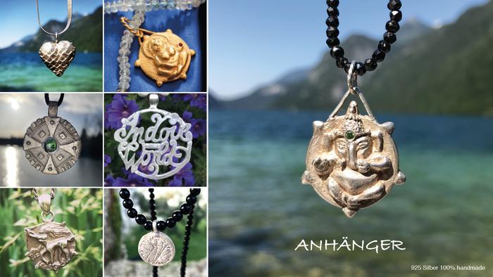Spiritueller Schmuck, energetisierter Schmuck, handgefertigter Schmuck, esoterischer Schmuck, Anhänger, Amulette, Talismane