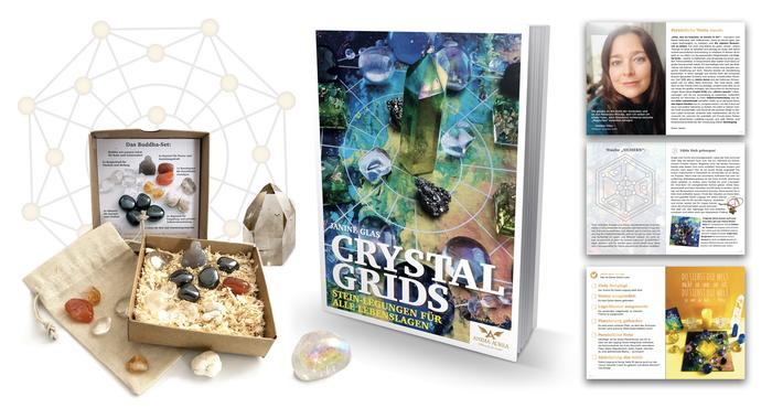 eBook, Crystal Grid, Anima Aurea, Crystal Grids, Kristalle, Download