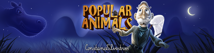 Popular Animals Game für Tablets