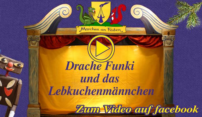 Drache Funki und das Lebkuchenmännchen - Link zum Video