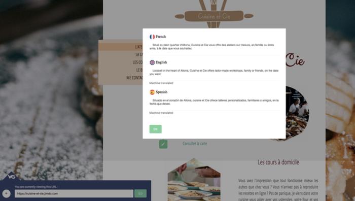 Con Weglot puedes crear tu página web en varios idiomas.