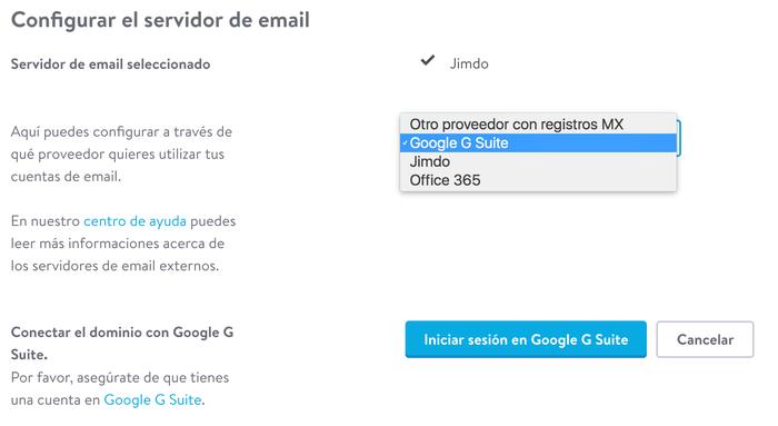 Gestiona tus correos con G Suite en unos clics.