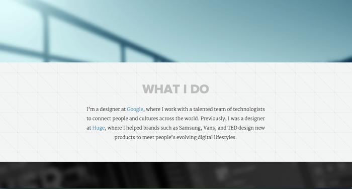 Ejemplo de texto para una web con tipografía serifa.