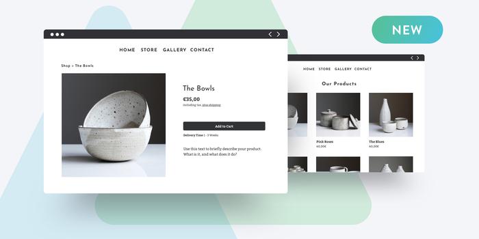 Crear una tienda online Jimdo Dolphin