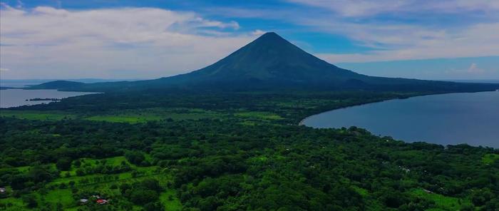 Volcan Conception, Île Ometepe (pendant la saison sèche)