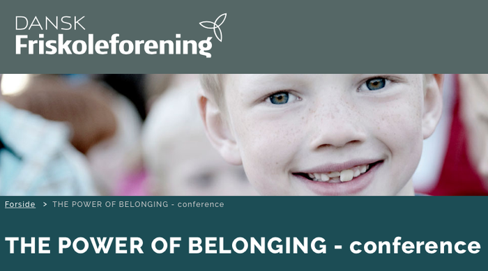 Conference - THE POWER OF BELONGING