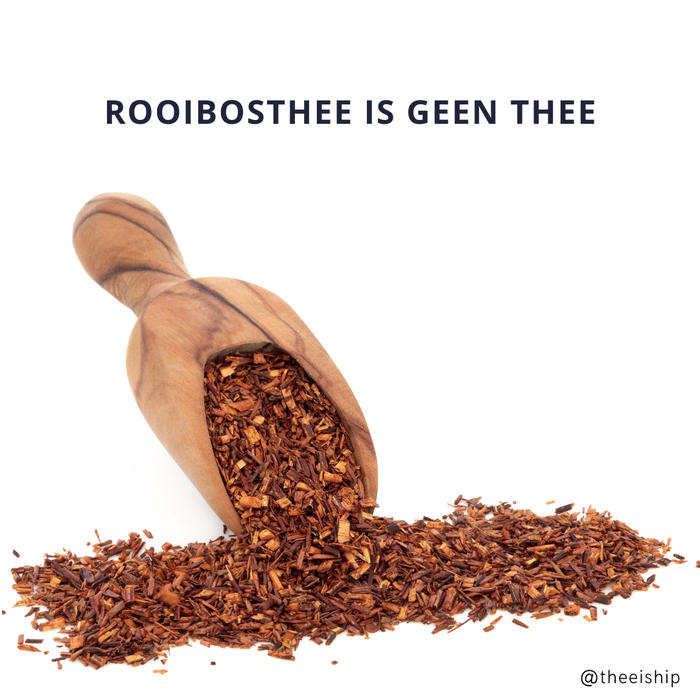 Blog artikel over rooibos thee.