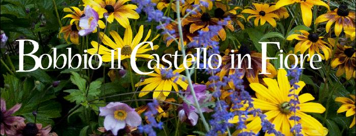 A Bobbio il Castello in Fiore Rassegna di piante e fiori, conferenze, incontri con gli esperti del giardino al Castello Malaspina Dal Verme.