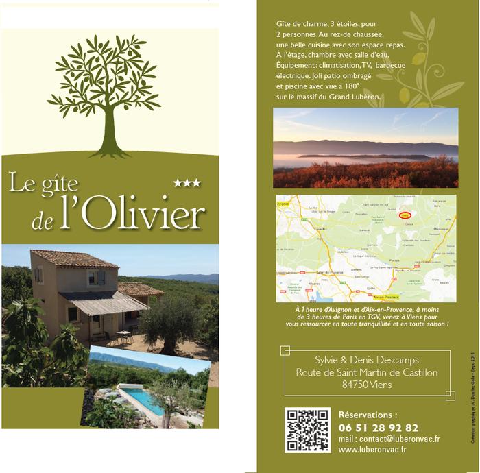 Location gîte de charme 3 étoiles et 3 clés Vacances dans le Luberon