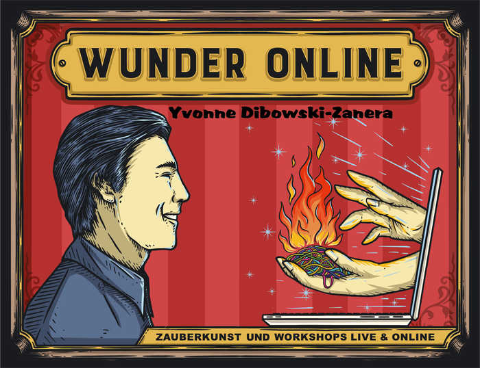 Workshop Zaubern lernen per Zoom Onlinemeeting Videokonferenz Idee