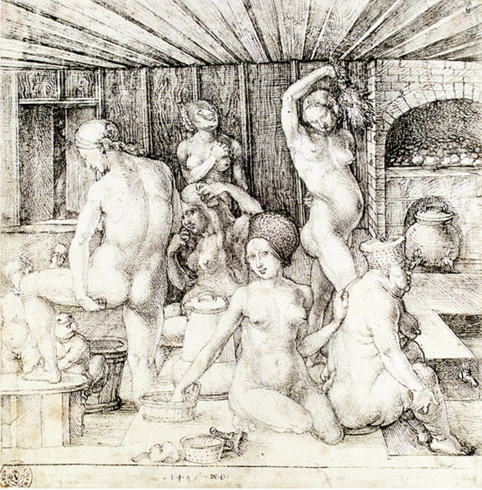 Le bain des femmes, Albrecht Dürer,