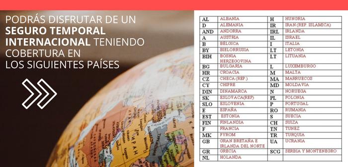 SEGURO TEMPORAL, SEGURO INTERNACIONAL, SEGURO CARTA VERDE, CARTA VERDE INTERNACIONAL, COBERTURA INTERNACIONAL, COBERTURA EUROPA
