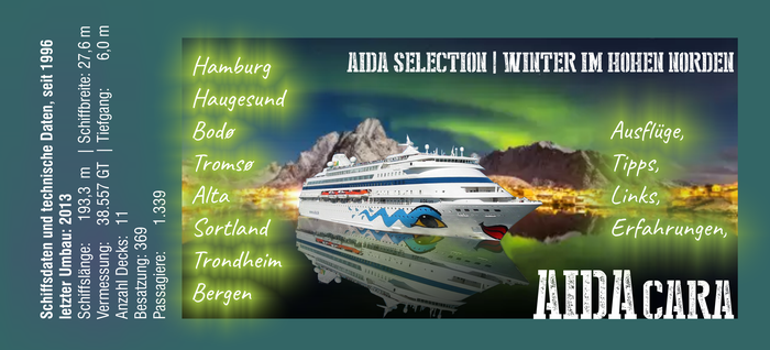 AIDAcara, Winter im Hohen Norden, Norwegen - AIDA Selection Reise