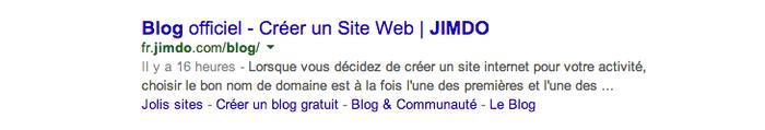 les méta données du blog jimdo