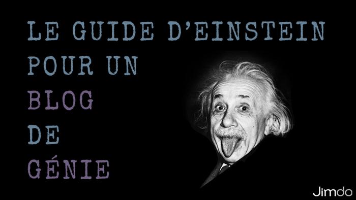 Découvrez ce qui aurait fait d'Einstein un excellent blogueur, et améliorez vos propres billets blog à travers les qualités surprenantes du génie !