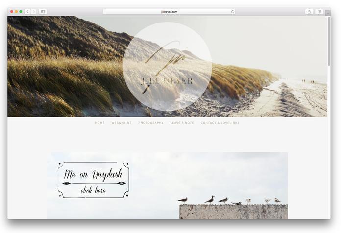 L'image d'en-tête se réduit sur vos sous-pages afin de laisser la place à votre contenu.