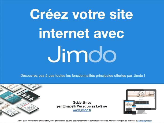 Guide Jimdo à télécharger