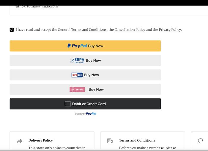 Capture d'écran des commentaires de clients satisfaits sur le site de la marque allemande Ilse Marie