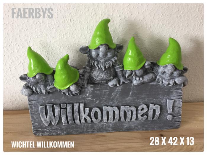 #wichtelhausen #betongussform #steinfiguren #gartendekoration #wichtel