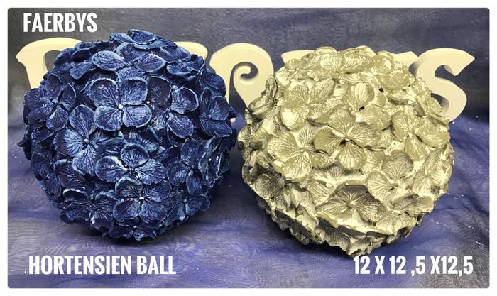 Beton Hortensienball Kugel #gussform Beton #gießform Beton #hortensien #hortensienkugel