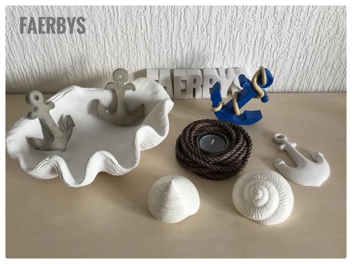Beton Gussformen Maritim #betongussform #maritim #gießformen #faerbys #gussform #beton