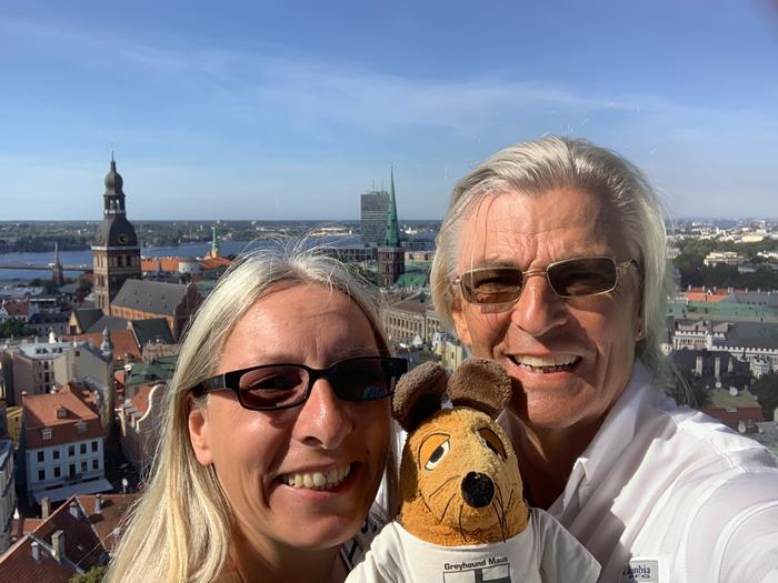 Über den Dächern von Riga