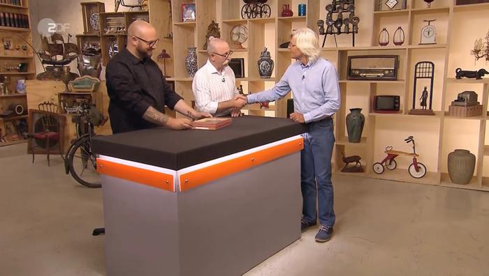 Der Greyhound im Gespräch mit dem Experten und Horst Lichter