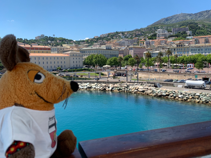 Tschüss, Korsika, es war sehr schön auf Dir ! Ich werde immer sehr gerne an Dich denken !